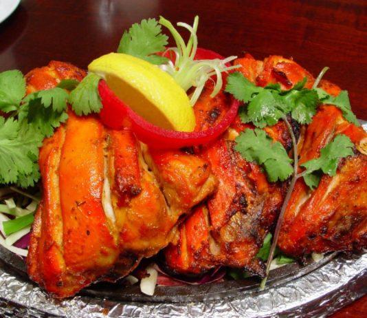 Spicy Tandoori Chicken