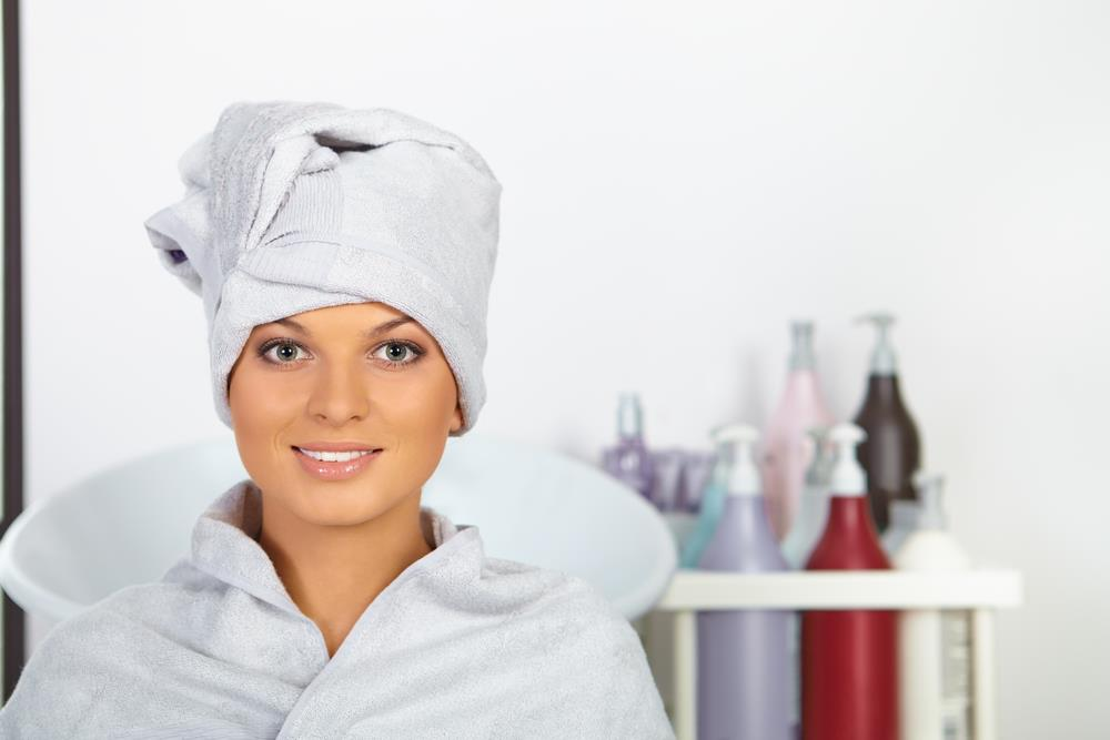 towel for wet hair