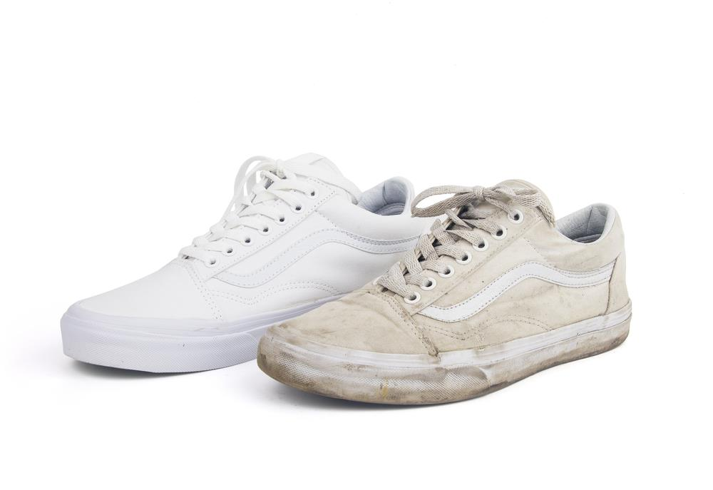 How To Get White Shoes Again